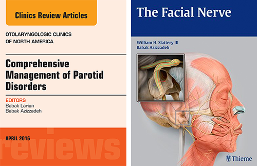 Dr. Larian -  Collaborater on Top-Selling Textbooks About the Parotid Gland